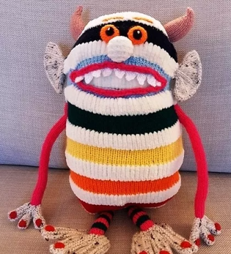 toothy worry monster